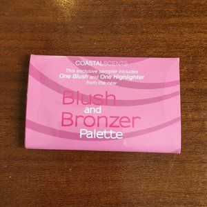 Coastal Scents Exclusive Blush and Bronzor Palette